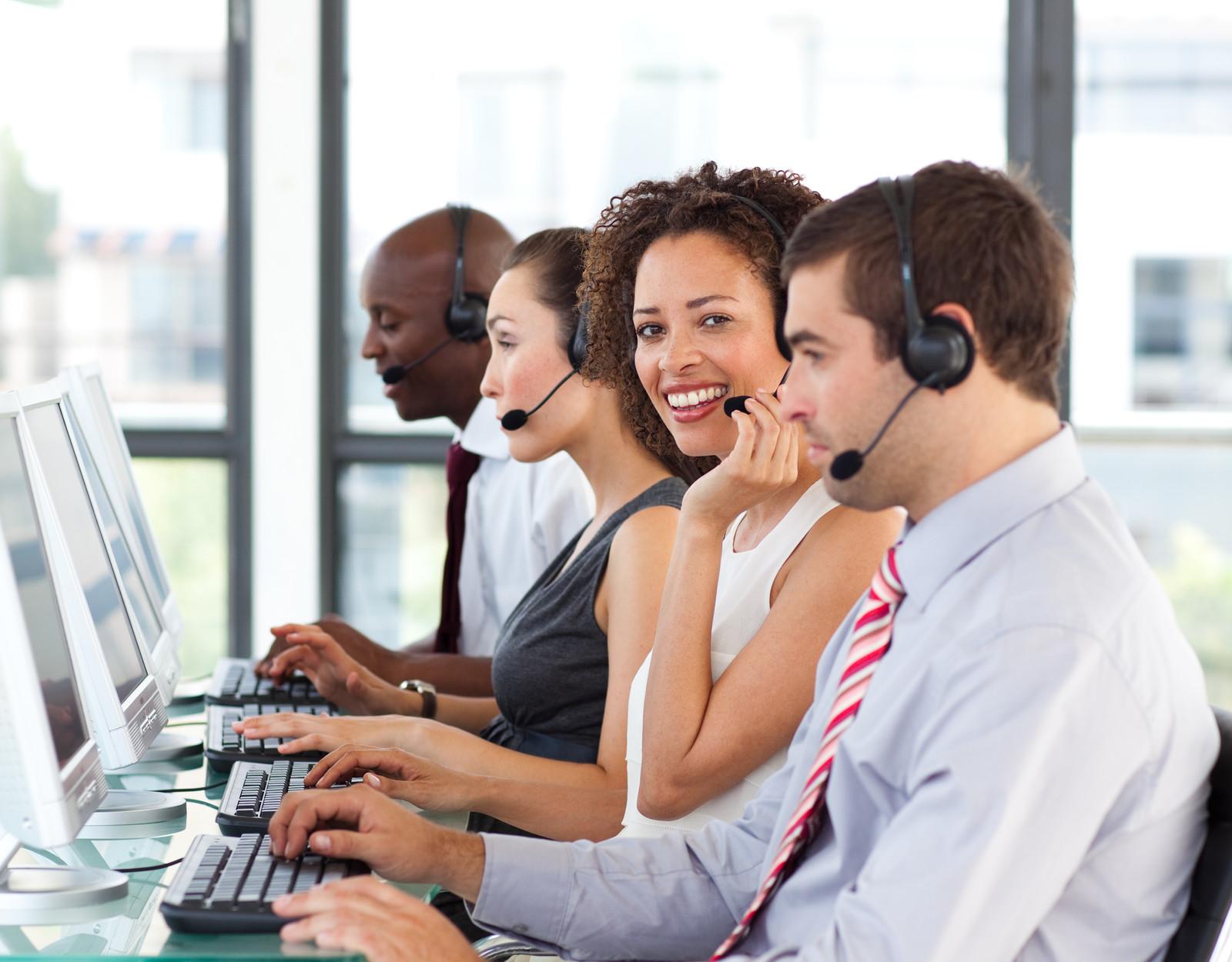 Call-center-mobile-messaging