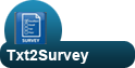 Txt2Survey Mobile Marketing Platform